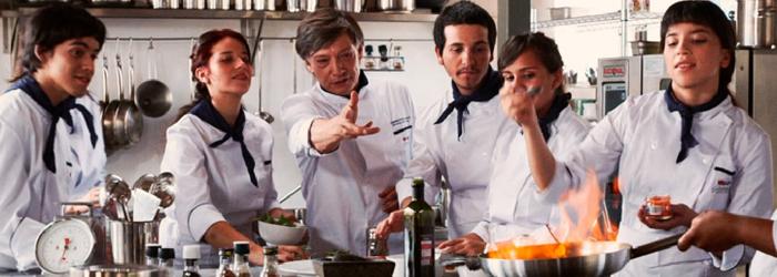 Programa de gastronomía para Preparatoria