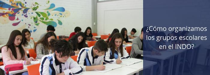 ¿Cómo organizamos los grupos escolares en el Indoamericano?